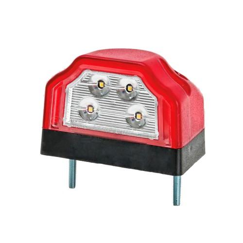 PILOTO LED LUZ PLACA MATRÍCULA + LUZ POSICIÓN TRASERA 12/24V FRISTOM FT-031 A LED