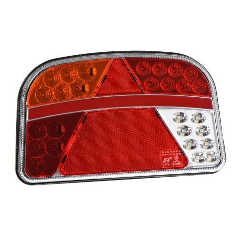 PILOTO TRASERO LED 7 FUNCIONES 12/24V TRS001