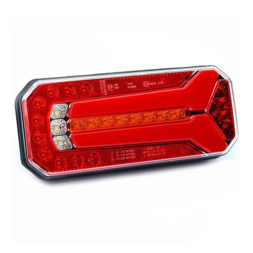 PILOTO TRASERO LED 6 / 7 FUNCIONES 12/24V WAS W150