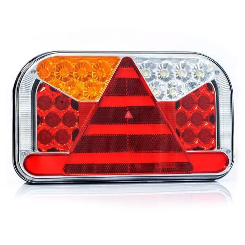 PILOTO TRASERO LED 6 / 7 FUNCIONES 12/24V FRISTOM FT-170 LED