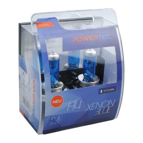 LÁMPARAS H4 XENON BLUE, LUZ BLANCA 12V | 60/55W PTZXB4-DUO