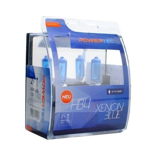 LÁMPARAS HB4-9006 XENON BLUE, LUZ BLANCA 12V | 55W PTZXBHB4-DUO