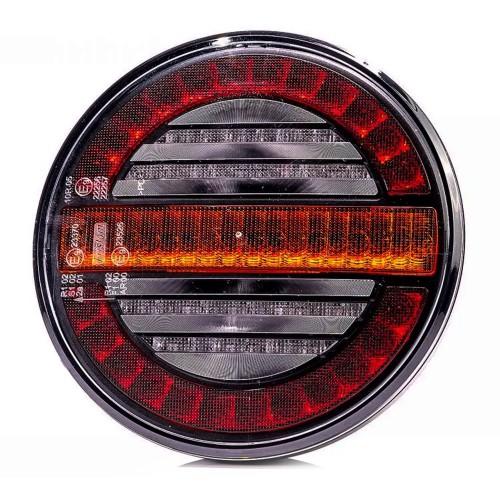 PILOTO TRASERO LED 3 FUNCIONES 12/24V INDICADOR DINÁMICO  FRISTOM FT-213 LED DI