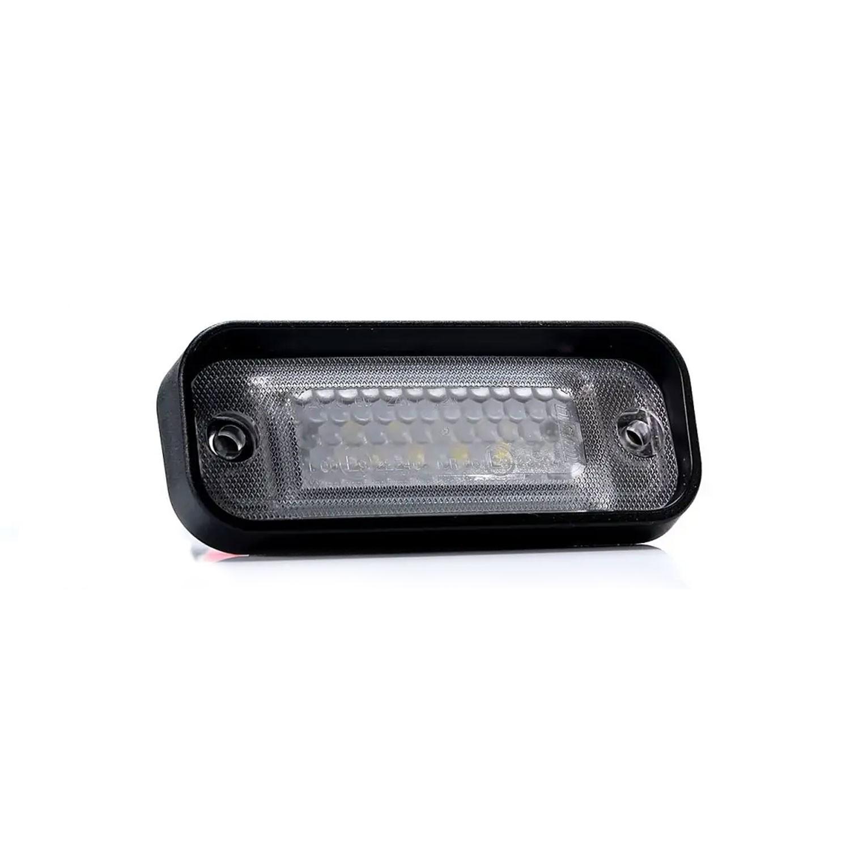 PILOTO LED PLACA MATRÍCULA  EMPOTRABLE 12/24V FRISTOM FT-263 LED