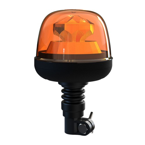 FARO ROTATIVO / DESTELLANTE LED BASE FLEXIBLE 7 FUNCIONES R65/R10 12/24V STW08M