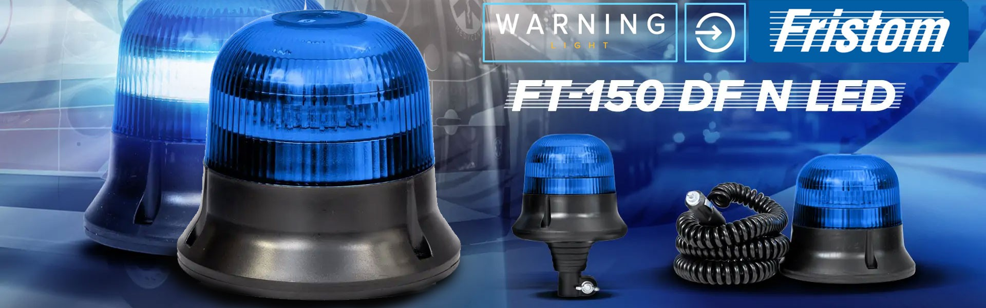 FAROS ROTATIVOS AZULES FT-150 DF N LED
